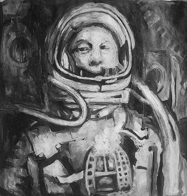 Astronauts on Behance