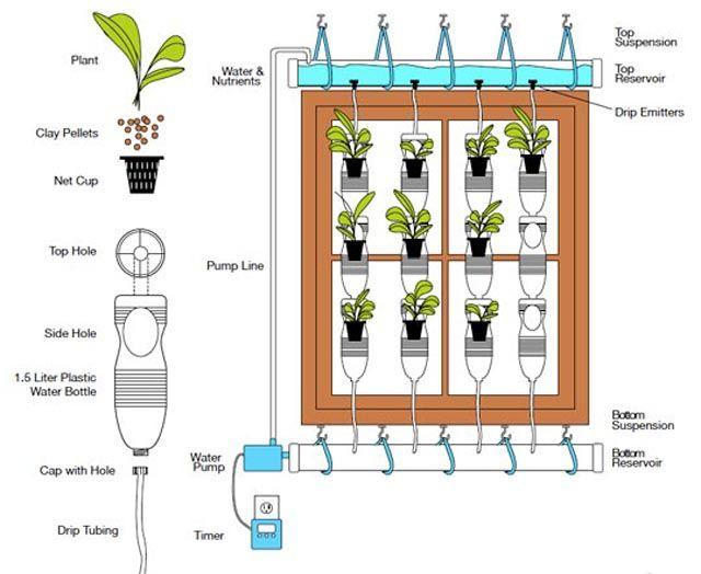 Windowfarm un jardín hidropónico en tu ventana