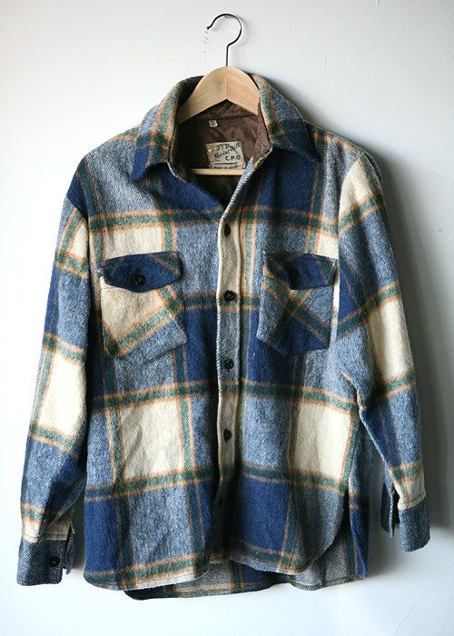Etsy vintage flannels