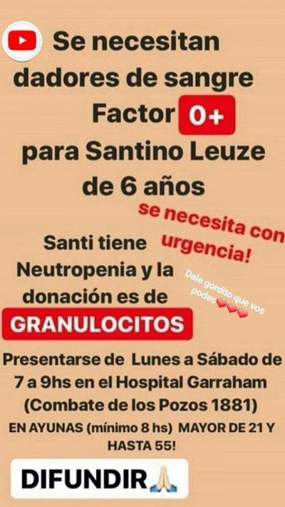 #Otro niño de Gualeguaychú pelea por su vida en el Garrahan - Radio Máxima: Radio Máxima Otro niño de Gualeguaychú pelea por su vida en el…