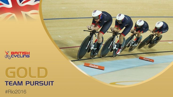 8/13/16 Via Welsh Cycling  ·   It's GOLD!!! And a new world record 4:10.236!   Fantastic ride by Team GB and Elinor Barker #Gold #Rio2016     Welsh Cycling, British Cycling, Sport Wales and Elinor Barker