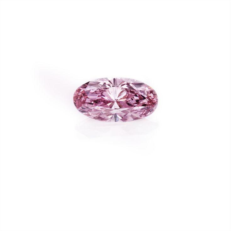 Argyle Pink Oval Diamond