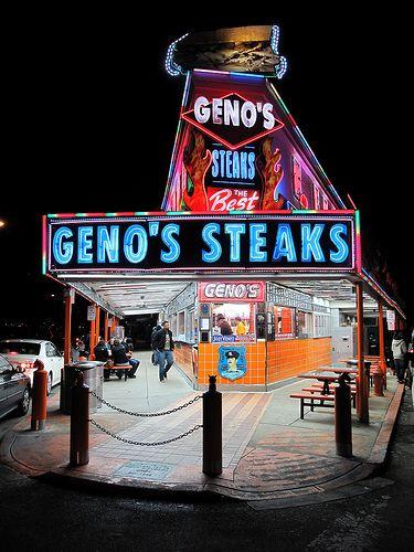 Geno's Steaks, Philadelphia, PA