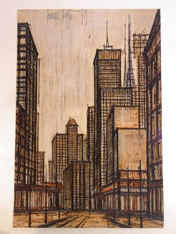 Bernard Buffet manhattan