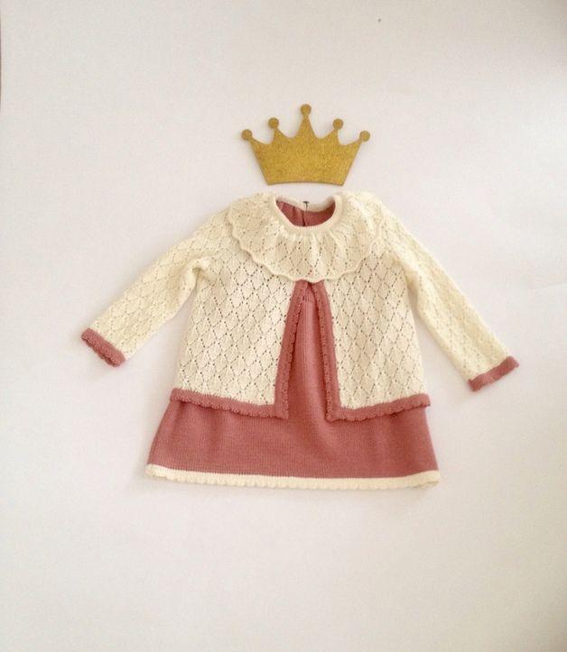 Festmode - Komplettes Outfit, 2er Set: Kleid und Jacke - ein Designerstück von MarumaKids bei DaWanda