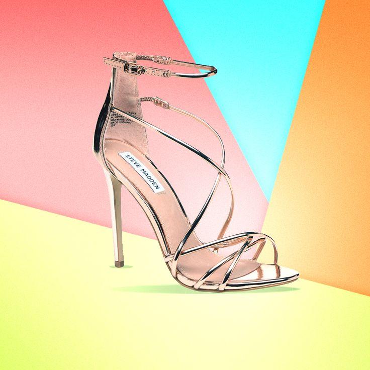 Les sandales dorées Steve Madden, idéales pour nos soirées de l'été ! Bénéficiez de -15% sur le site Sarenza avec le code AUF15