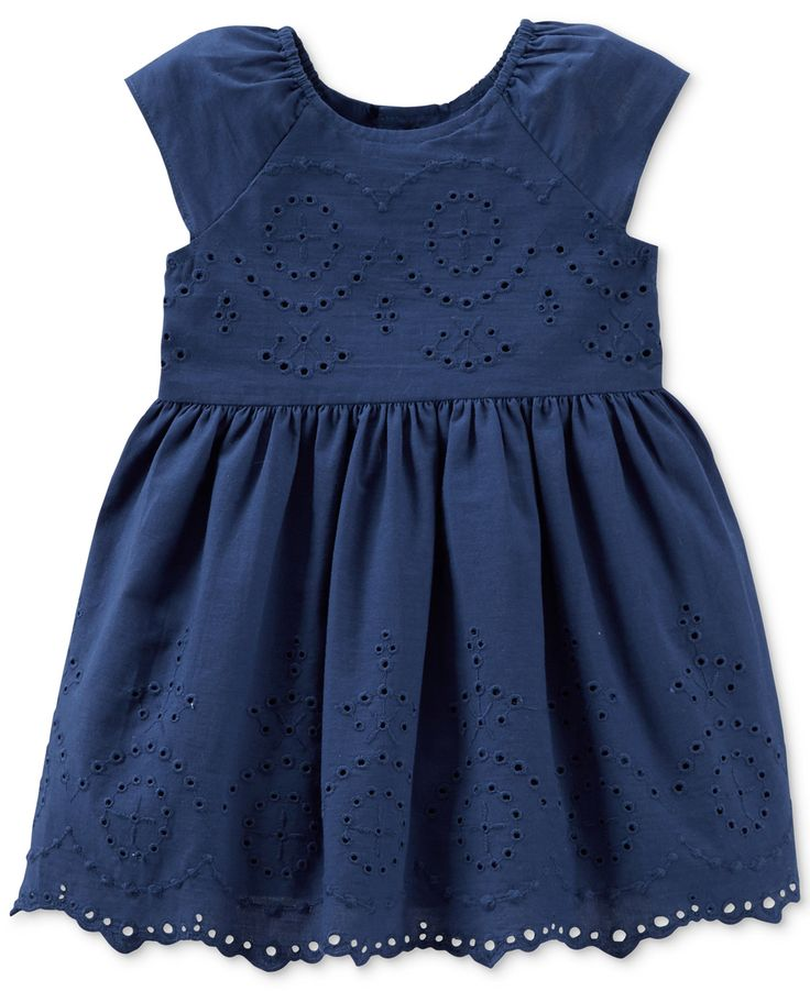 Carter's Baby Girls' Eyelet Dress - Kids Shop All Girls - Macy's
