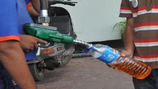 Petrol price was today hiked by 70 paisa per litre, the fifth increase in rates in two months, and diesel by 50 paisa per litre on firming international oil prices.