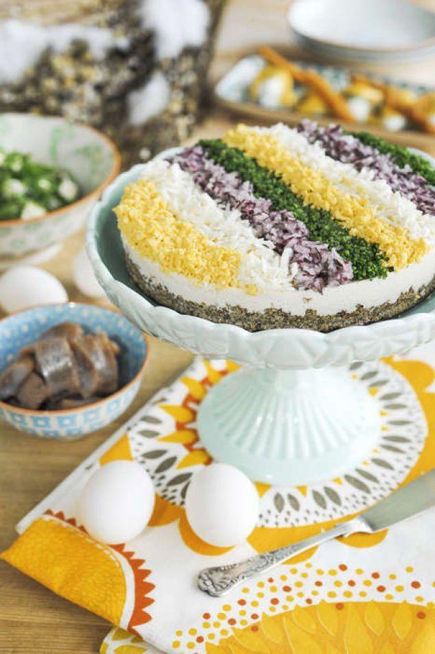 Denna tårta är enkel att göra men ser väldigt proffsig ut