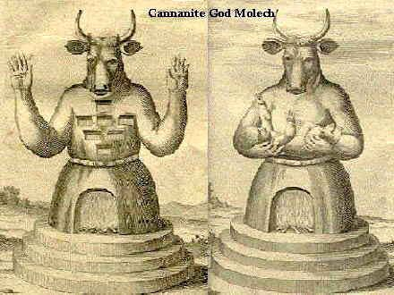 Molech is the Jewish Lord of Bohemian Grove