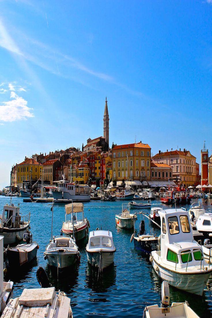 Postcards views of Rovinj Croatia