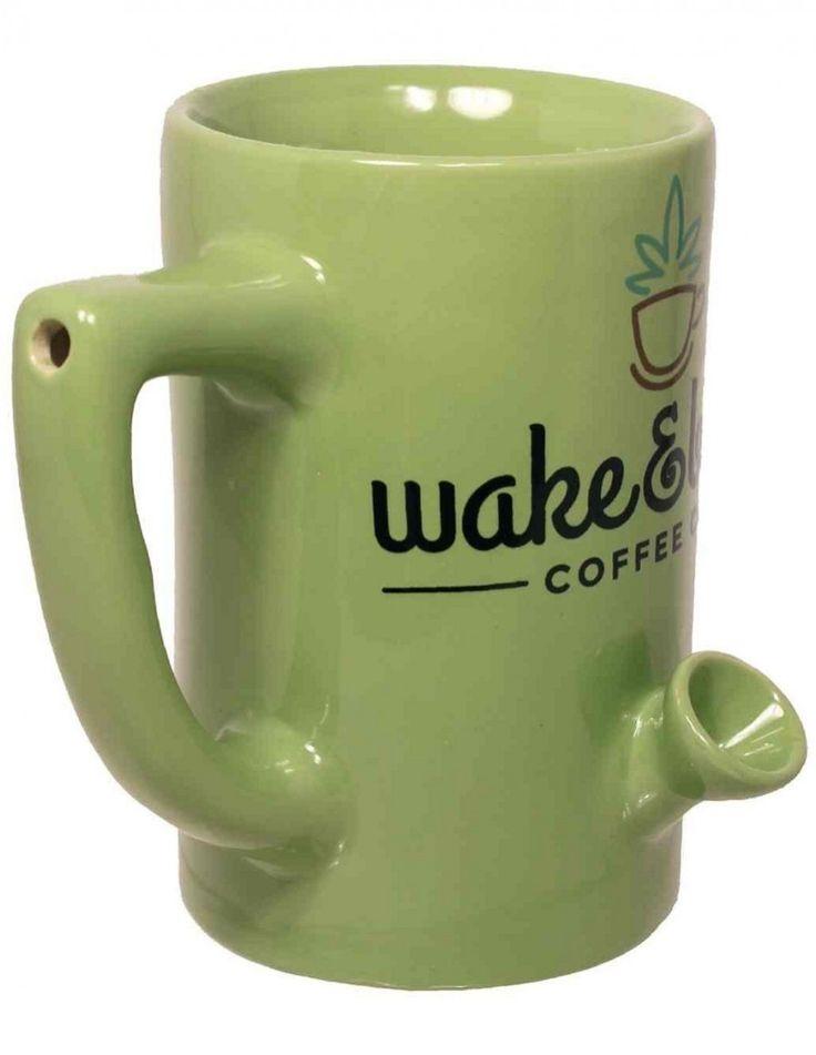 Wake + Bake Ceramic Coffee Mug
