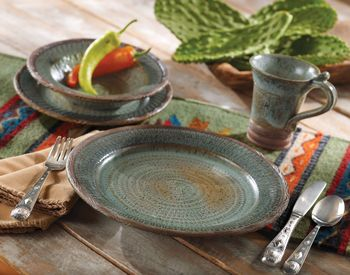 croweu0027s nest dinnerware   Bold Southwestern Dinnerware-Rustic Dinnerware Earthenware and . & 10 best Rustic dinnerware images on Pinterest   Dish sets Rustic ...