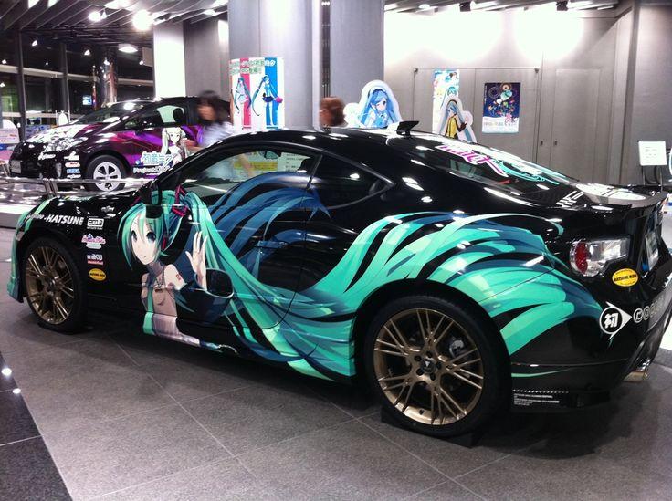 Intasca Car Hatsune Miku Japan Cars Vehicles Car Wrap