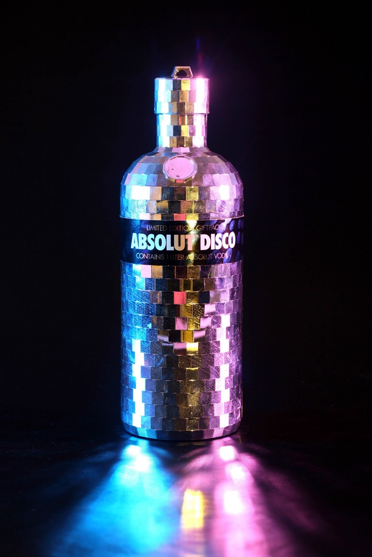 Absolut Vodka - Limited Edition: Absolut Disco (2007)