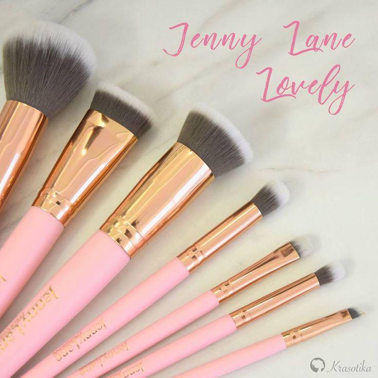 <3 NOVINKA <3 Nádherné kozmetické štetce Jenny Lane v edícii Lovely 😍 Sú úžasne hebké, perfektne sa s nimi pracuje a majú krásny dizajn
