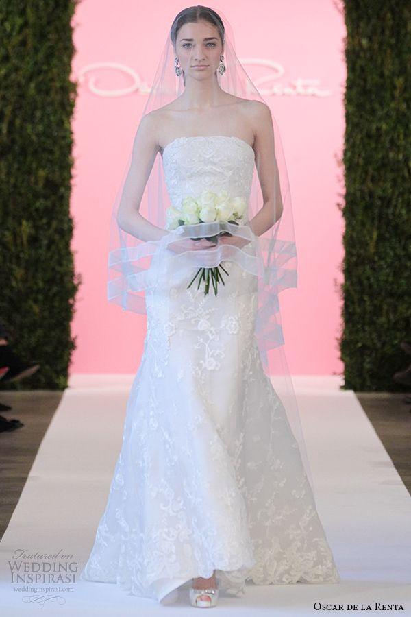 57 best Oscar de la Renta images on Pinterest | Wedding frocks ...