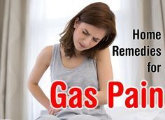 Natural and effective Home Remedies for Gas Pain. What causes gas pain and how you can relieve it naturally with home remedies.