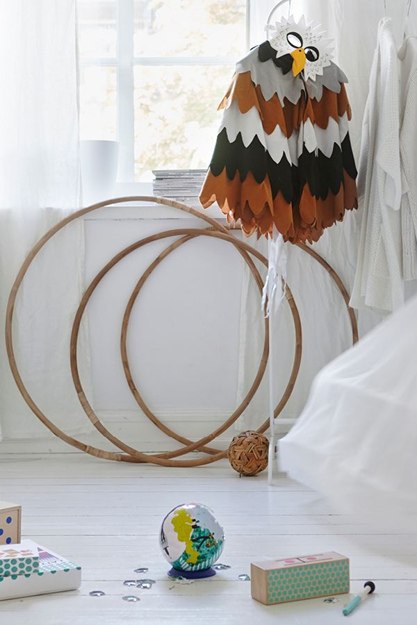 Playing with a hula hoop is good exercise and a fun way to practice coordination for all ages.