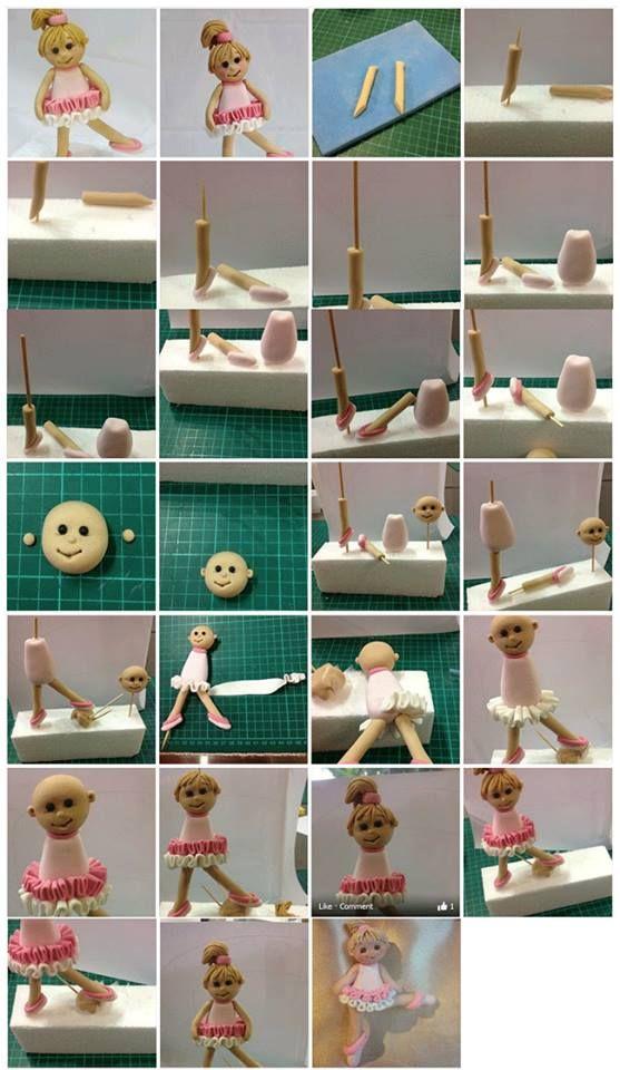 Ballerina Picture Tutorial