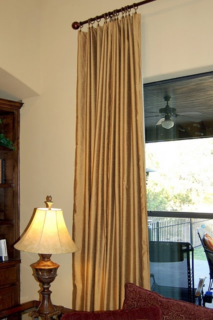 77 best images about how to make curtains on pinterest drop cloth curtains tab top curtains. Black Bedroom Furniture Sets. Home Design Ideas