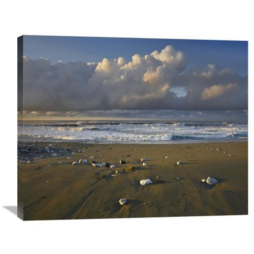 Beach And Waves, Corcovado National Park, Costa Rica By Tim Fitzharris, 28 X 35-Inch Wall Art