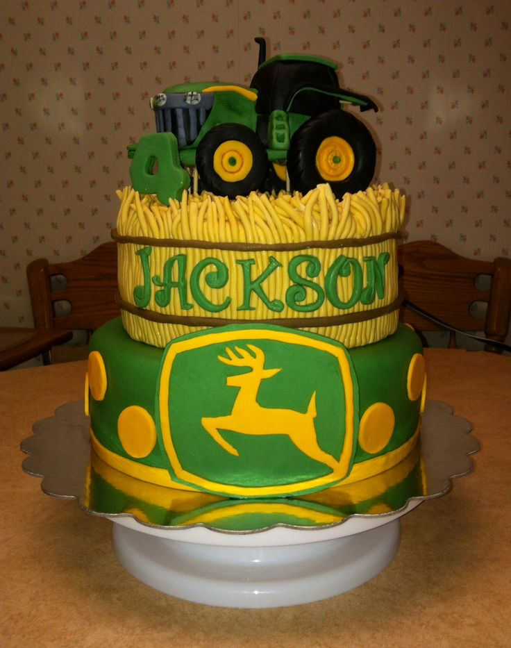 John Deere Birthday Cake Kit