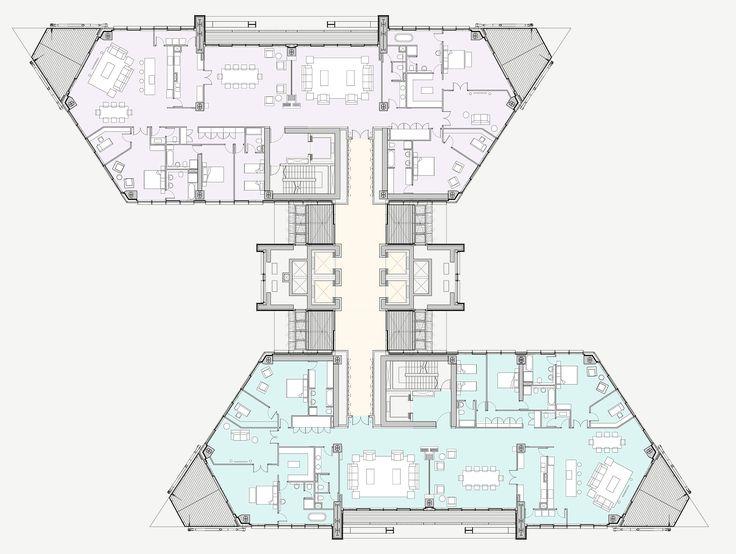 21 besten architektur grundriss bilder auf pinterest. Black Bedroom Furniture Sets. Home Design Ideas