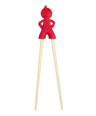Another great find on #zulily! Red Kids Chopsticks by Fred & Friends #zulilyfinds