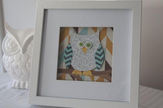 Baby owl art at my Etsy shop https://www.etsy.com/listing/198276274/baby-owl-art