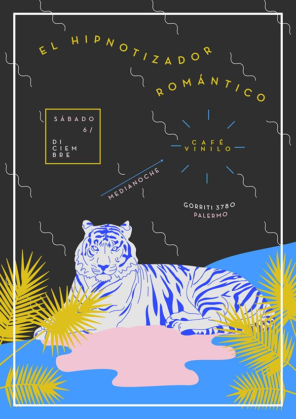 EL HIPNOTIZADOR ROMÁNTICO - Flyer on Behance
