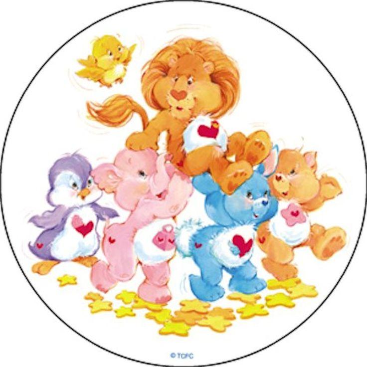 Round Care Bears Group, Sticker #carebears
