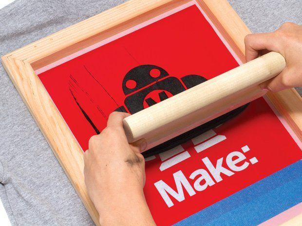 Simple Silk-Screen Printing Using a Vinyl Cutter