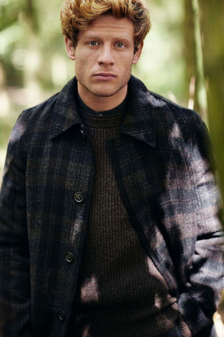 mens fashion james norton models the season�s coats � in