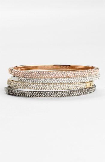 Michael Kors 'Camille' Pavé Hinged Bangle available at Nordstrom. It's all in the name.