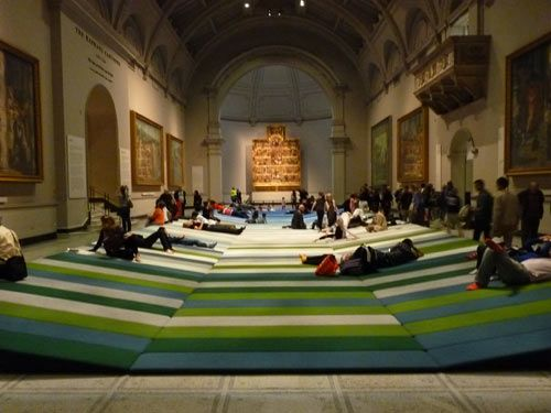 """""""Textile Field"""" at the Victoria & Albert Museum in London"""