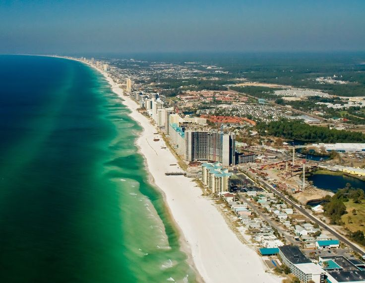 Dunia Pantai Terindah karena pantai berpasir gula putih unik barat laut Florida. Dia memiliki iklim subtropis lembab, dengan basah, musim panas lembab memiliki tinggi dan rendah rata-rata musim dingin yang sejuk.