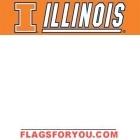 Illinois Fighting Illini Banner 8' x 2'