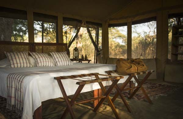 African safari at Chada Katavi in western Tanzania.
