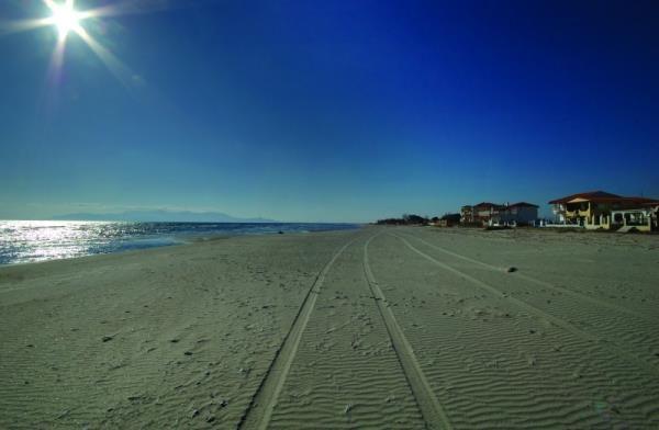 Avdira beach.