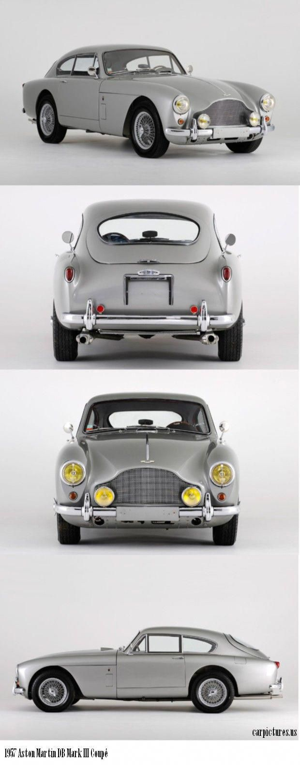 1957 Aston Martin Db Mark Iii Coupé Astonmartinclassiccars Aston Martin Aston Martin Cars Classic Cars