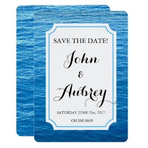 440 best Cruise Ship Wedding Invitations images on Pinterest