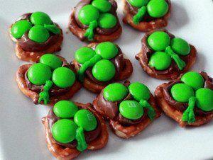 Ingredients  Small Pretzels Hershey Kisses Green M&M'sRead more ›