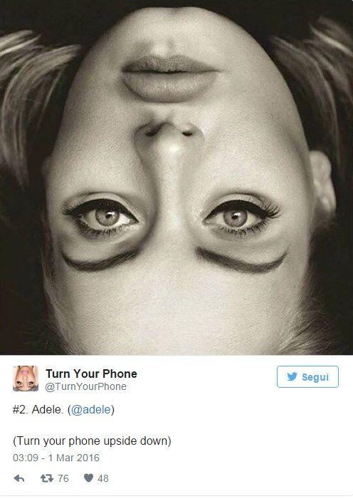 ''È diabolica!'', è questa la reazione di tutti alla vista della foto virale di Adele a testa in giù (che da giorni sta facendo il giro del web). Ma cos'ha di strano questo scatto? Ve lo diciamo subito. Ma veramente non l'avete notato? Brividi…