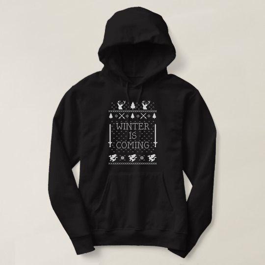 Winter Is Coming Christmas Custom Hoodies //Price: $31 & FREE Shipping //     #customtshirts #cheapcustomshirts #funnytshirts #theroyaltees #tshirtforman #tshirtforwoman #funnyquotetshirts #graphictees #coolgraphictees #gameofthrone #rickandmorty #likeforlike #tshirts #christmasgift #summer #catlover #birthdaygift #picoftheday #OOTD #giftforman #giftforwoman #streetwear #funnychristmasshirts #halloweencostume #halloweentshirt #tshirt #tshirts #tshirtdesign #funnygift #birthdaygift…