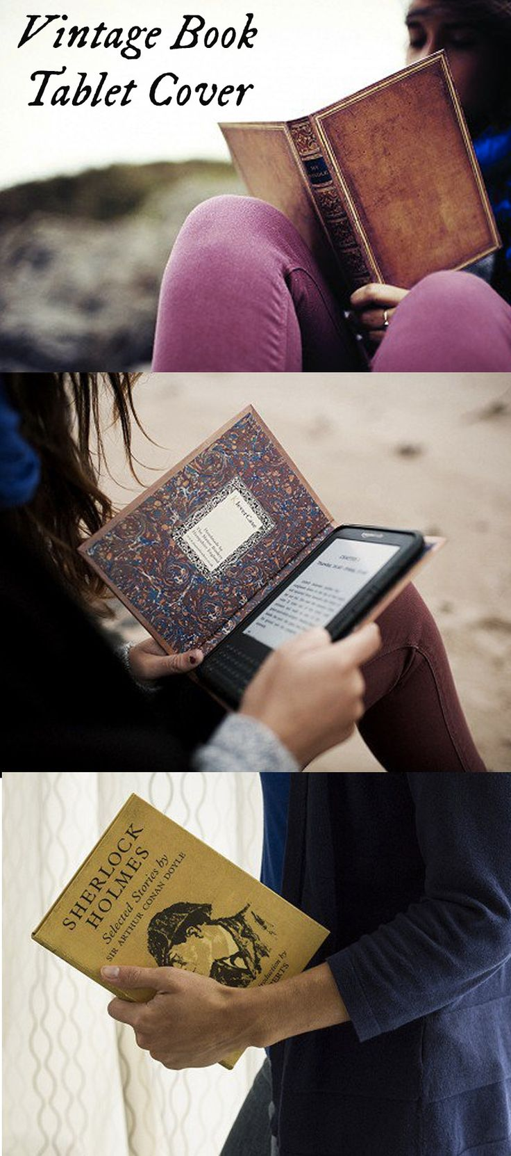 KleverCase protects your e-reader and will look like you're reading a vintage copy of a famous novel.