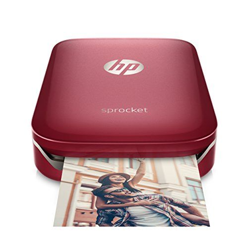 HP Sprocket Portable Photo Printer, print social media photos on 2x3 sticky-backed paper - red (Z3Z93A) -  http://www.wahmmo.com/hp-sprocket-portable-photo-printer-print-social-media-photos-on-2x3-sticky-backed-paper-red-z3z93a/ -  - WAHMMO