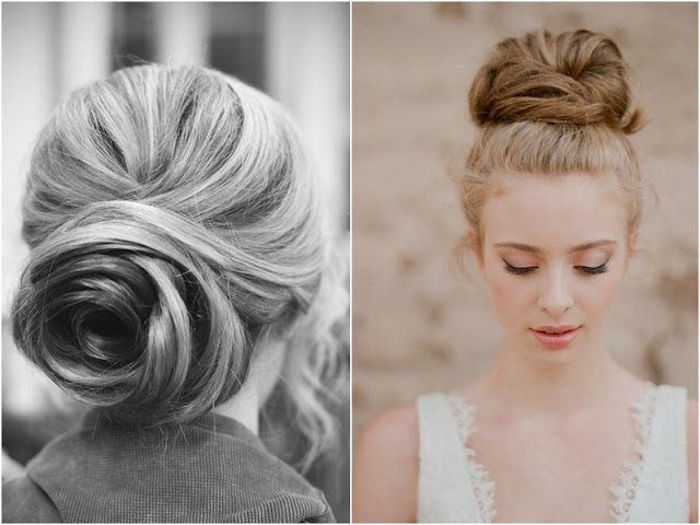 THE ENGLISH WEDDING BLOG: 25 Wedding Hair Styles of her hair - Scheduled Hair Styles - Modern Bridal Hairstyles