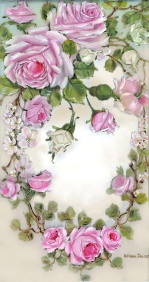 'Graceful Rose Wreath'