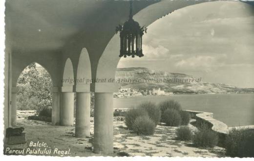 BU-F-01073-5-04715-1 Parcul palatului regal. Golful Balcic, -1930 (niv.Document)